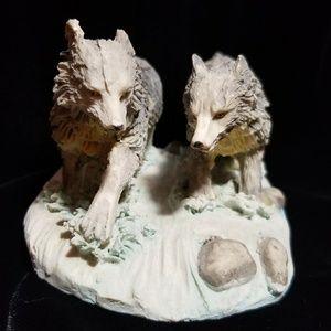 Clay Wolf decoration